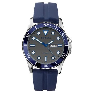 Mens Sekonda Watch, Water Resistant to 50 metres, 2 Year Guarantee