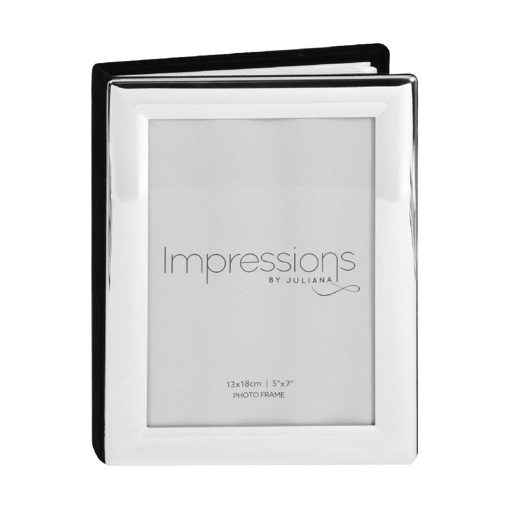 Silverplated 5inch x 7inch / 13cms x 18cms Photo Album