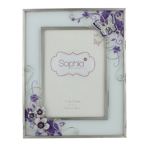 Glass 5inch x 7inch / 13cms x 18cms Photo Frame