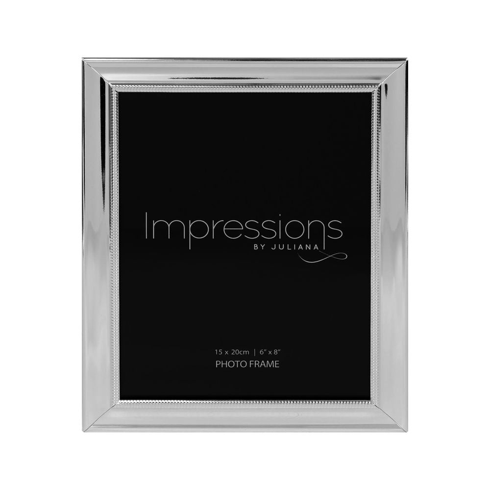 Silverplated 6inch x 8inch / 15cms x 20cms Photo Frame