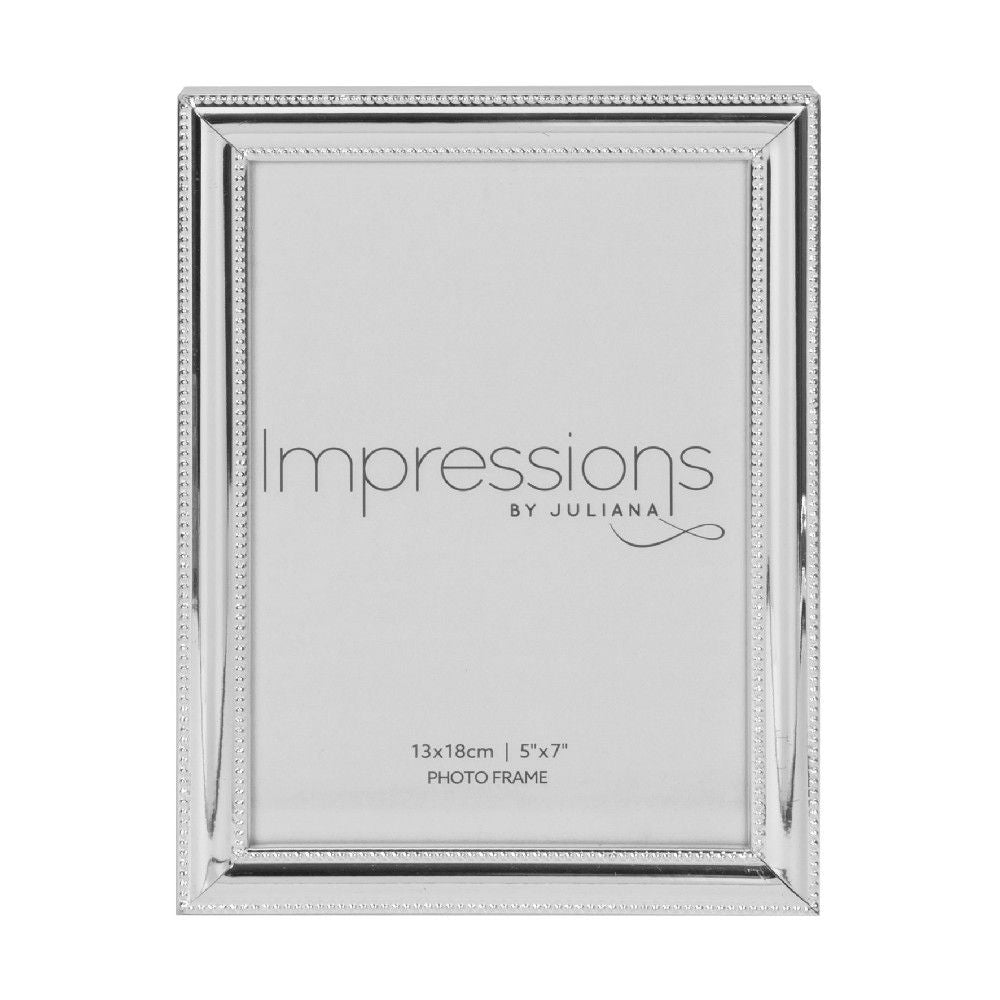 Silverplated 5inch x 7inch / 13cms x 18cms Photo Frame