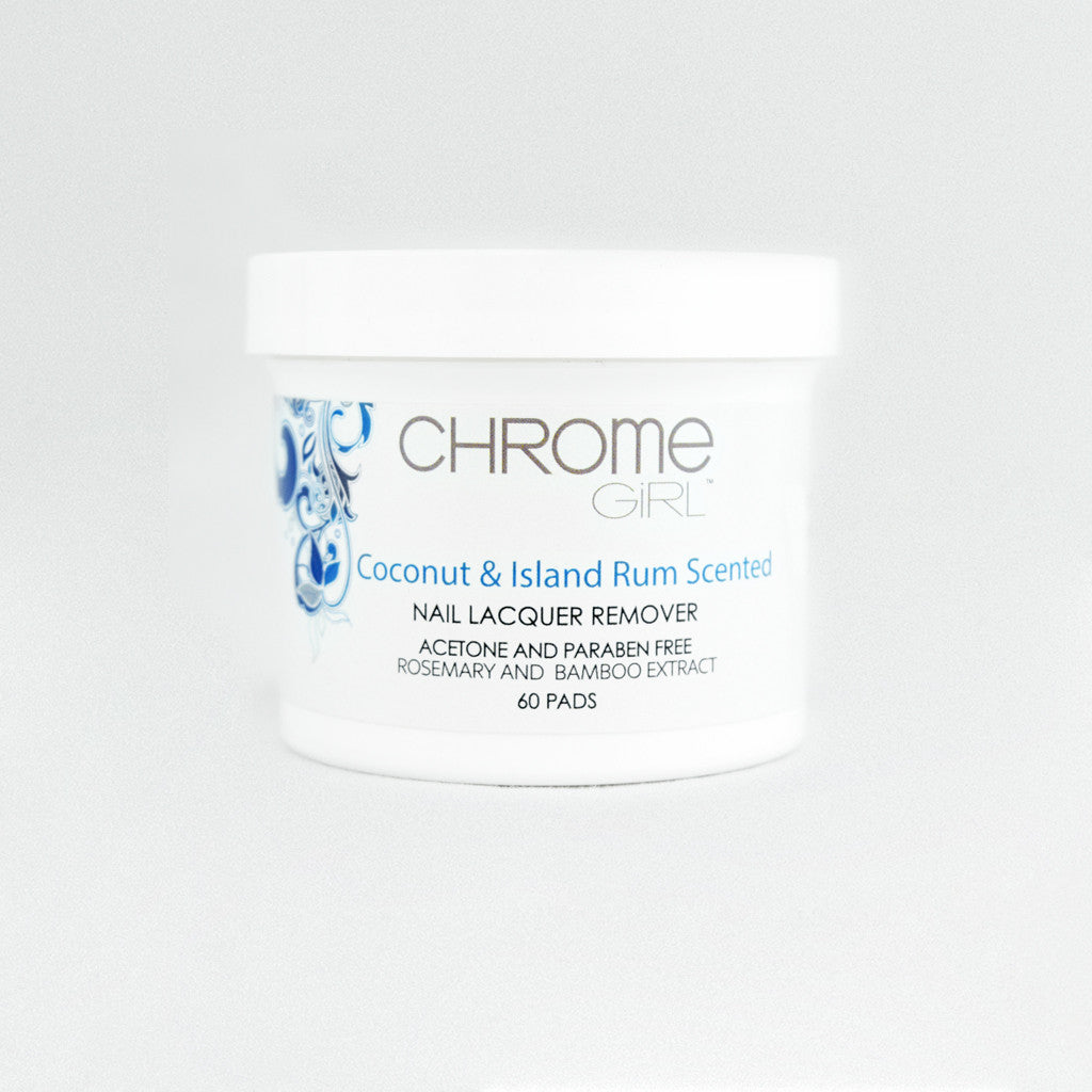 Genie Remover Pads - Coconut and Rum Scent
