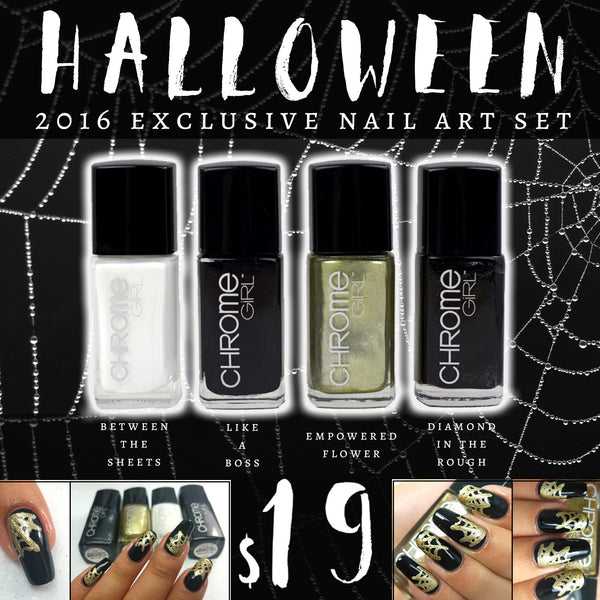Halloween Exclusive Nail Art Set