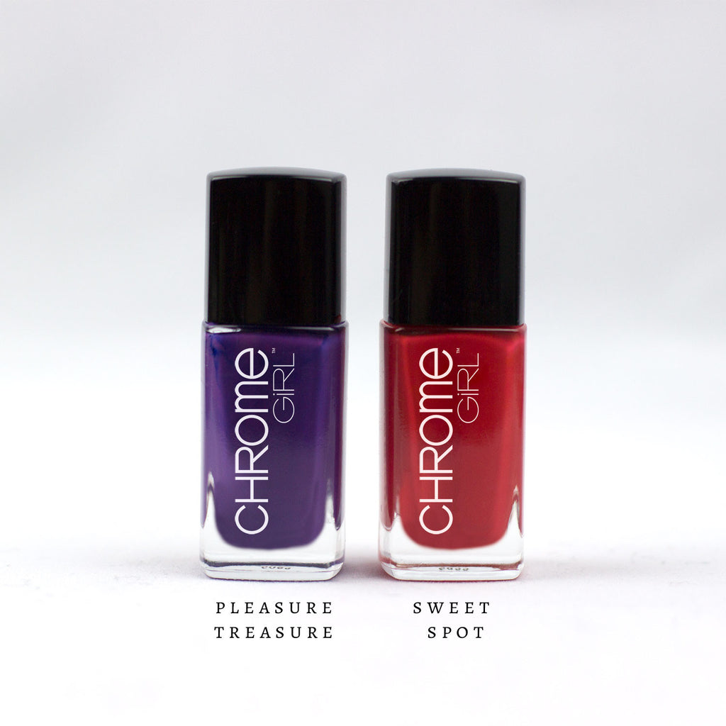 MANI/PEDI SET-Pleasure Treasure/Sweet Spot