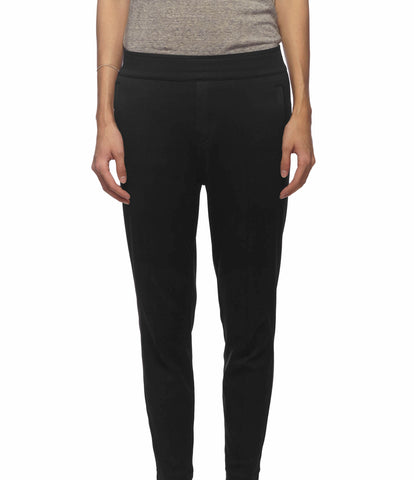 BLACK PONTE DI ROMA TROUSERS