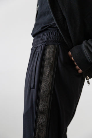 CARBON FIBRE PLEATED PANT