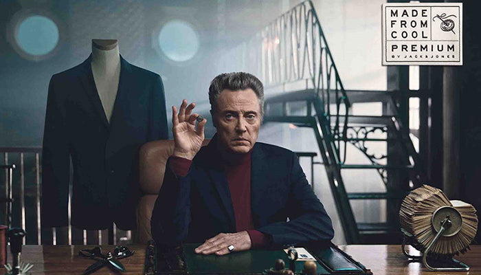 Jack & Jones - 'Made from Cool' Ad Campaign with Christopher Walken