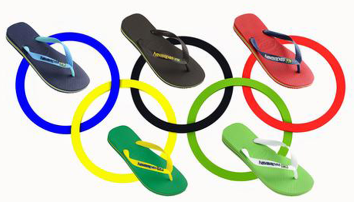 Rio Olympics - Flip Flop Fever with Havaianas and Ipanema