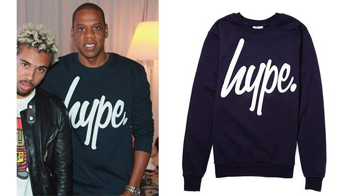 Jay Z - Hype Logo Sweatshirt & New Backpacks
