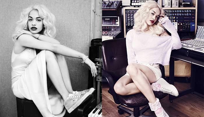 Rita Ora – The New Face of Superga Cotu 2750 Shoes