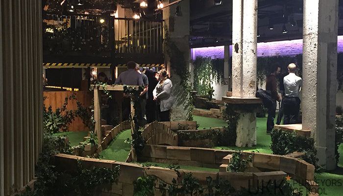 Swingers London Crazy Golf Course