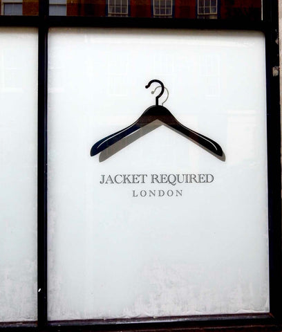 Jacket Required Window