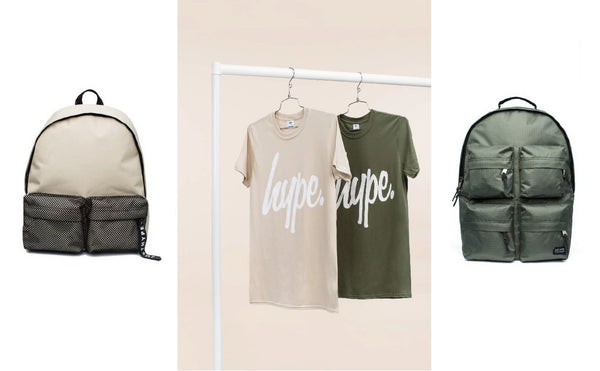 Hype New Collection Script T-Shirt Backpack