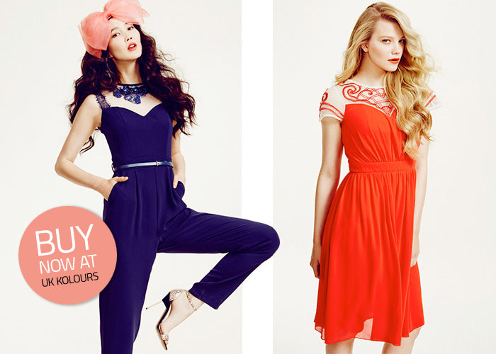 Little Mistress LOOK Magazine collection - embellished jumpsuits and party dresses