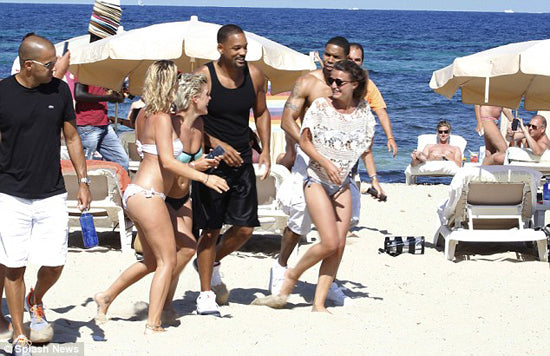 Will Smith in Ibiza