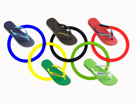 Havianas Brazil Flip-Flops Sandals Summer