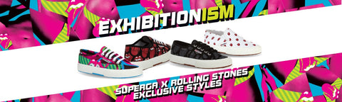 The Rolling Stones, Superga, Footwear, Sneakers, Shoes, Exhibitionism