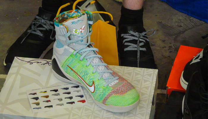 Kobe 9 Elite High Tops Multicolor