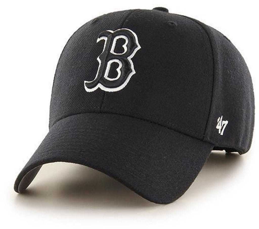 47 Brand Boston Red Sox MVP Adjustable Baseball Cap Black