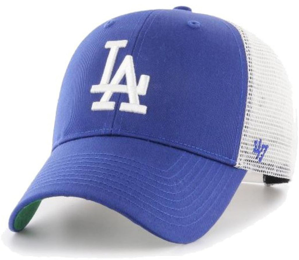47 Brand Los Angeles Dodgers Branson MVP Trucker Cap Blue