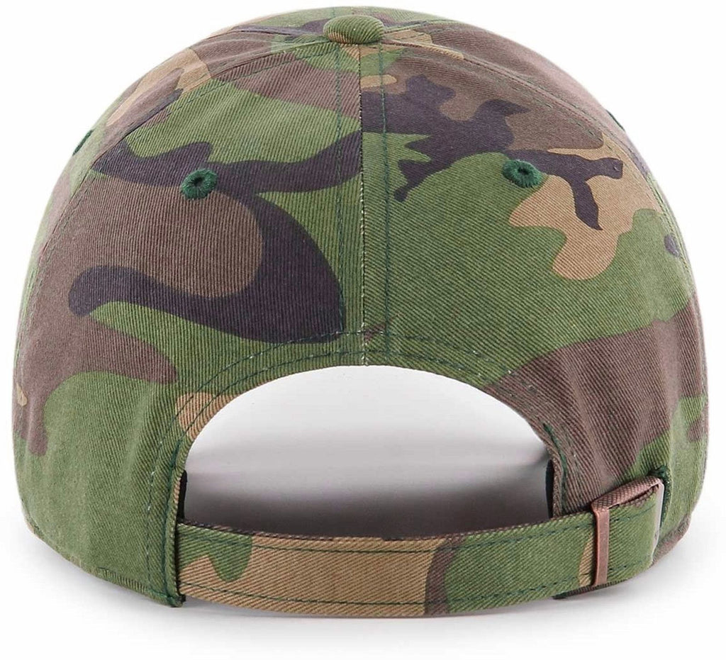 47 Brand MLB Boston Red Sox '47 Clean Up Adjustable Baseball Cap Camo