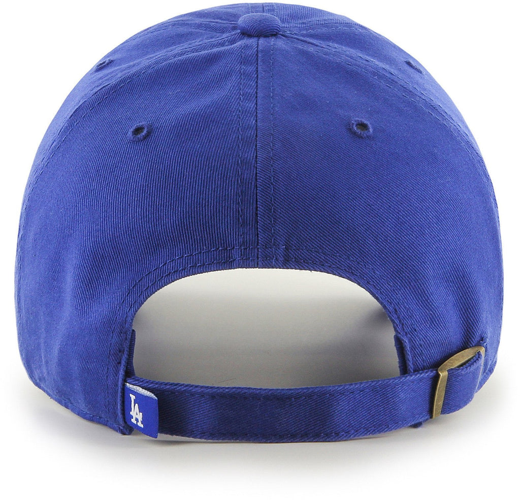47 Brand MLB Los Angeles Dodgers '47 Clean Up Adjustable Baseball Cap Blue