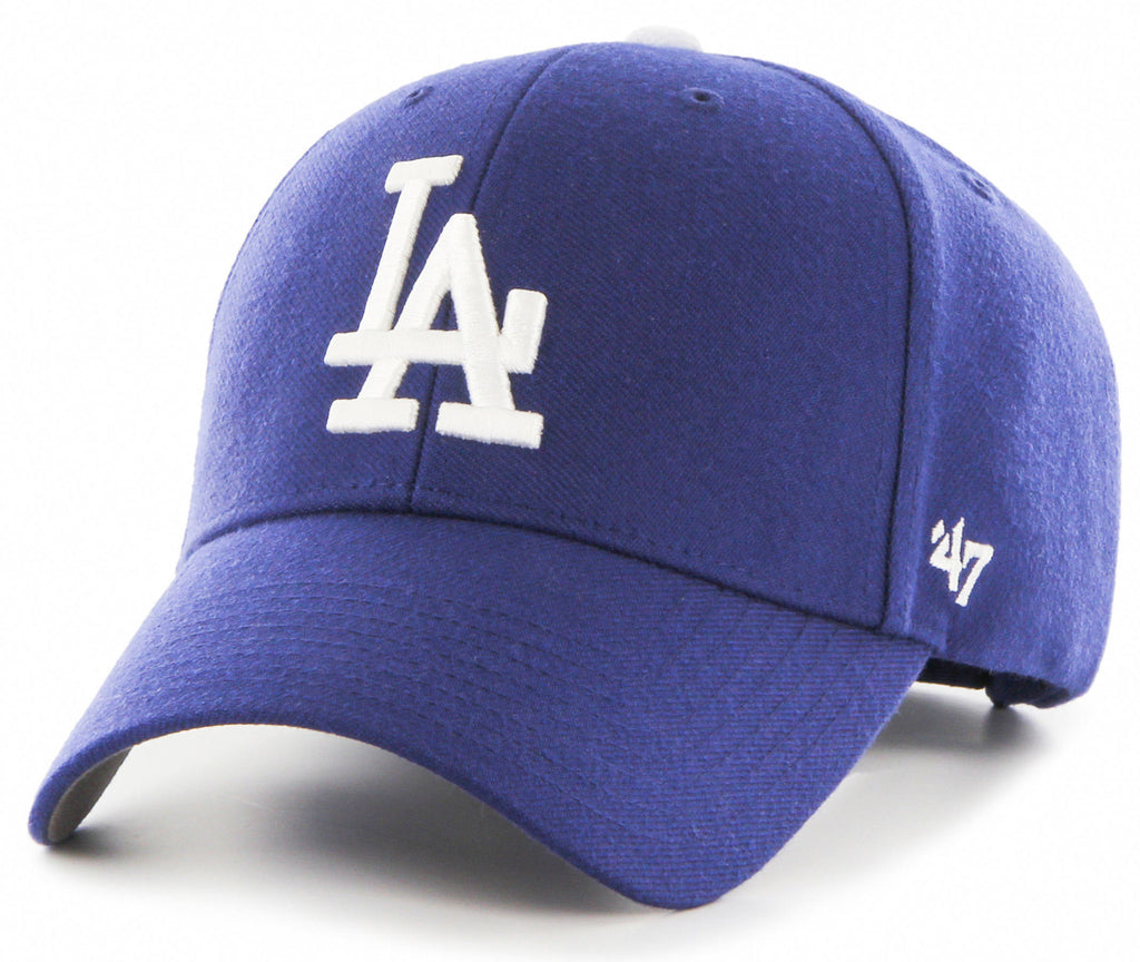 47 Brand MLB Los Angeles Dodgers '47 MVP Adjustable Velcro Strap Baseball Cap