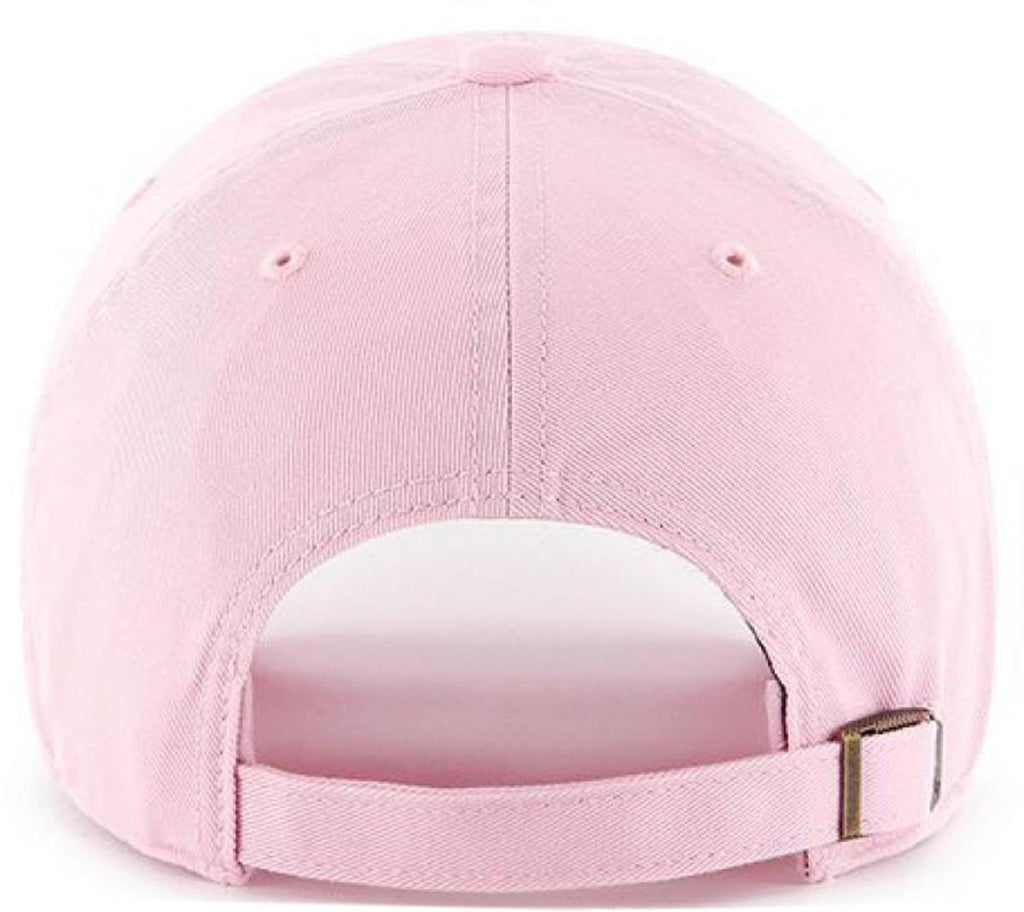 47 Brand MLB Los Angeles Dodgers '47 Clean Up Adjustable Baseball Cap Pink