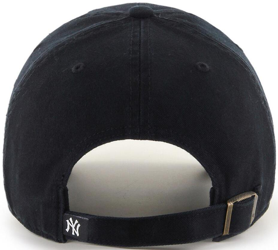 47 Brand MLB New York Yankees '47 Clean Up Adjustable Baseball Cap Black