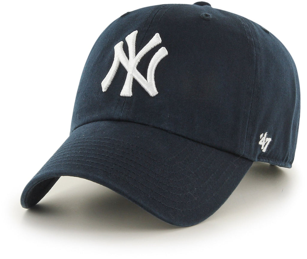 47 Brand MLB New York Yankees '47 Clean Up Adjustable Baseball Cap Navy