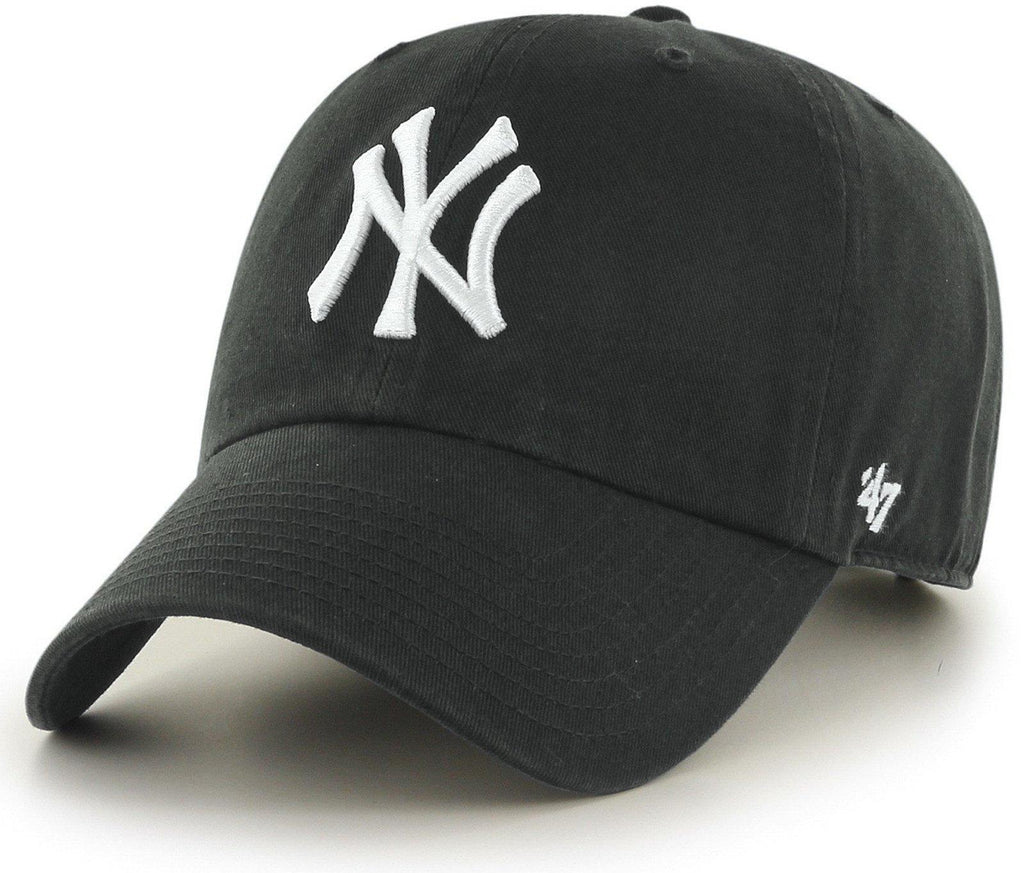 47 Brand MLB New York Yankees '47 Clean Up Adjustable Baseball Cap Charcoal