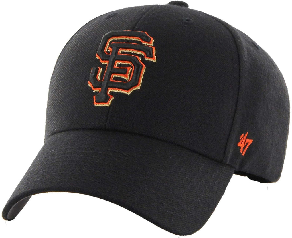 47 Brand MLB San Francisco Giants MVP Adjustable Velcro Strap Baseball Cap