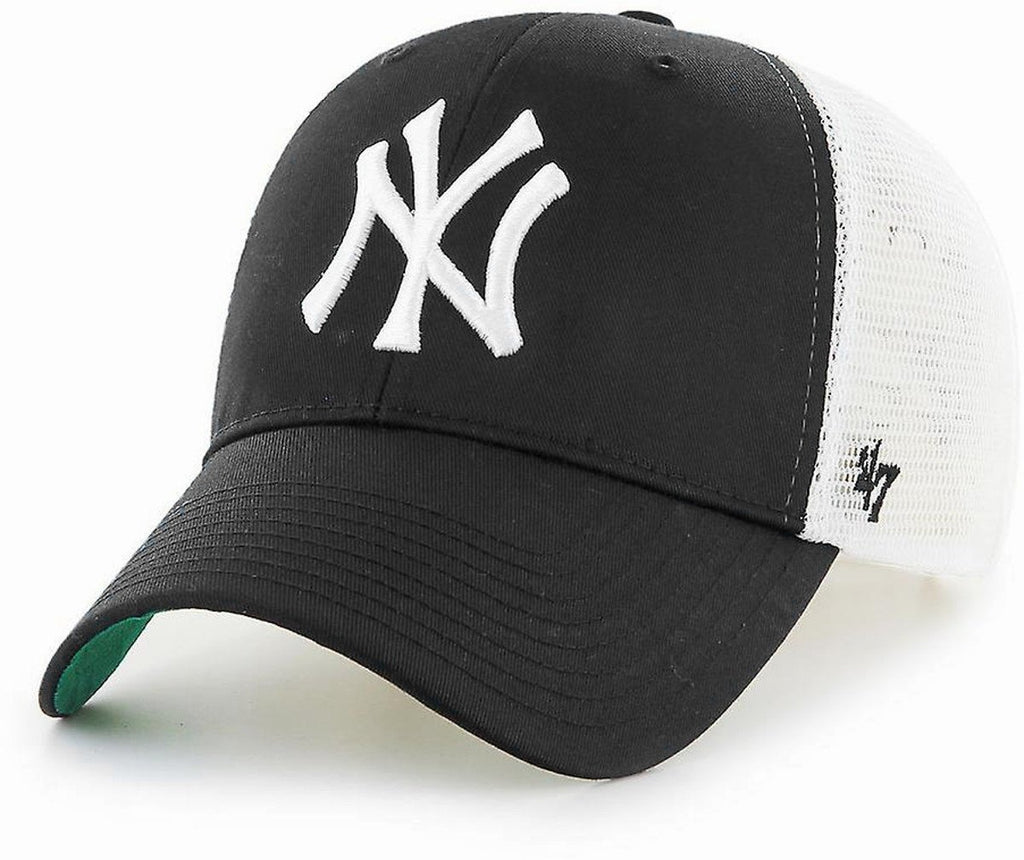 47 Brand New York Yankees Branson MVP Trucker Cap Black