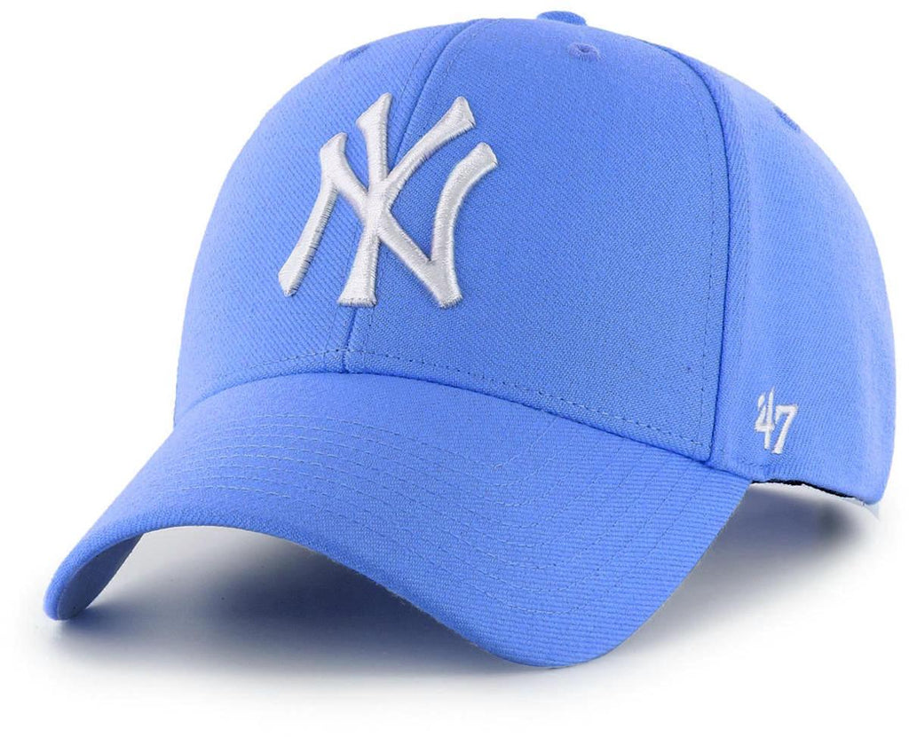 47 Brand New York Yankees MVP Adjustable Baseball Cap Blue