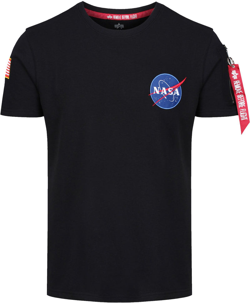 Alpha-Industries-NASA-Heavy-T-Shirt-Black