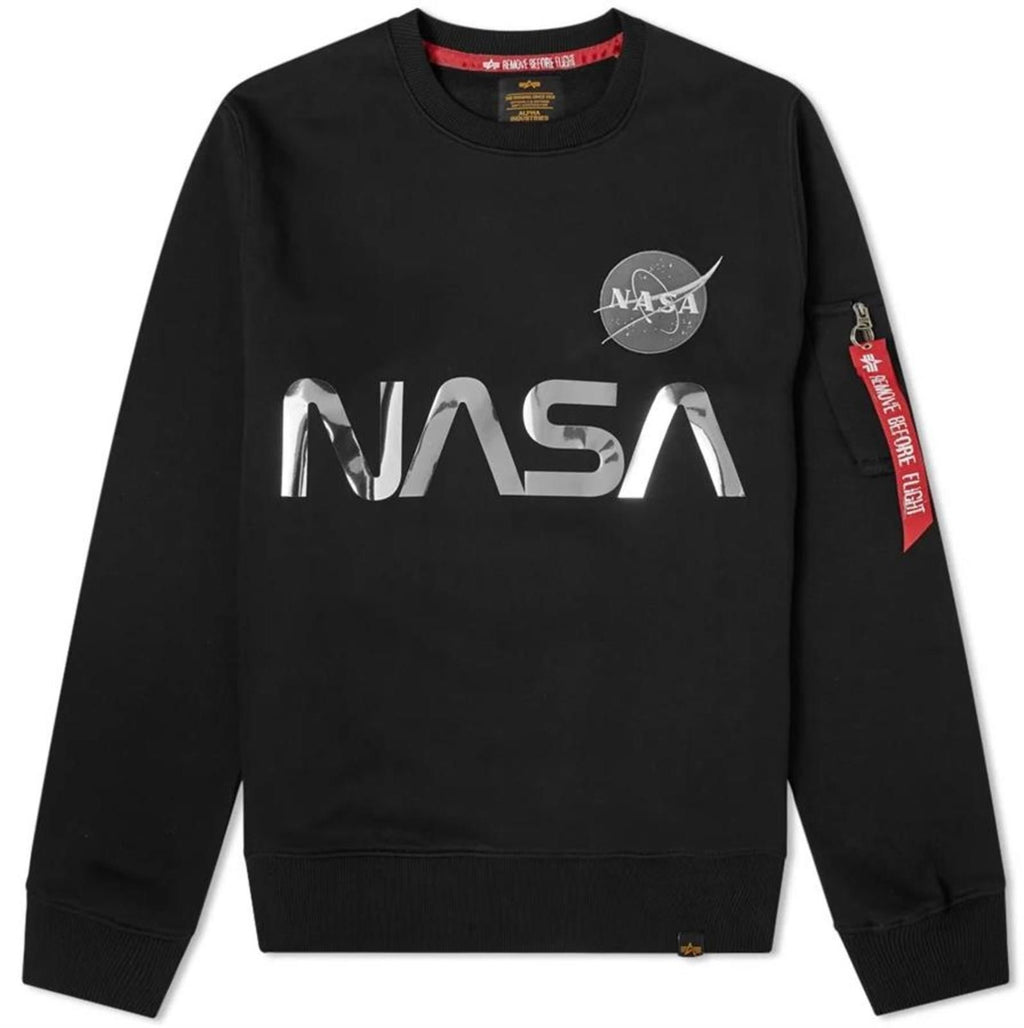 Alpha-Industries-NASA-Reflective-Sweatshirt-Black
