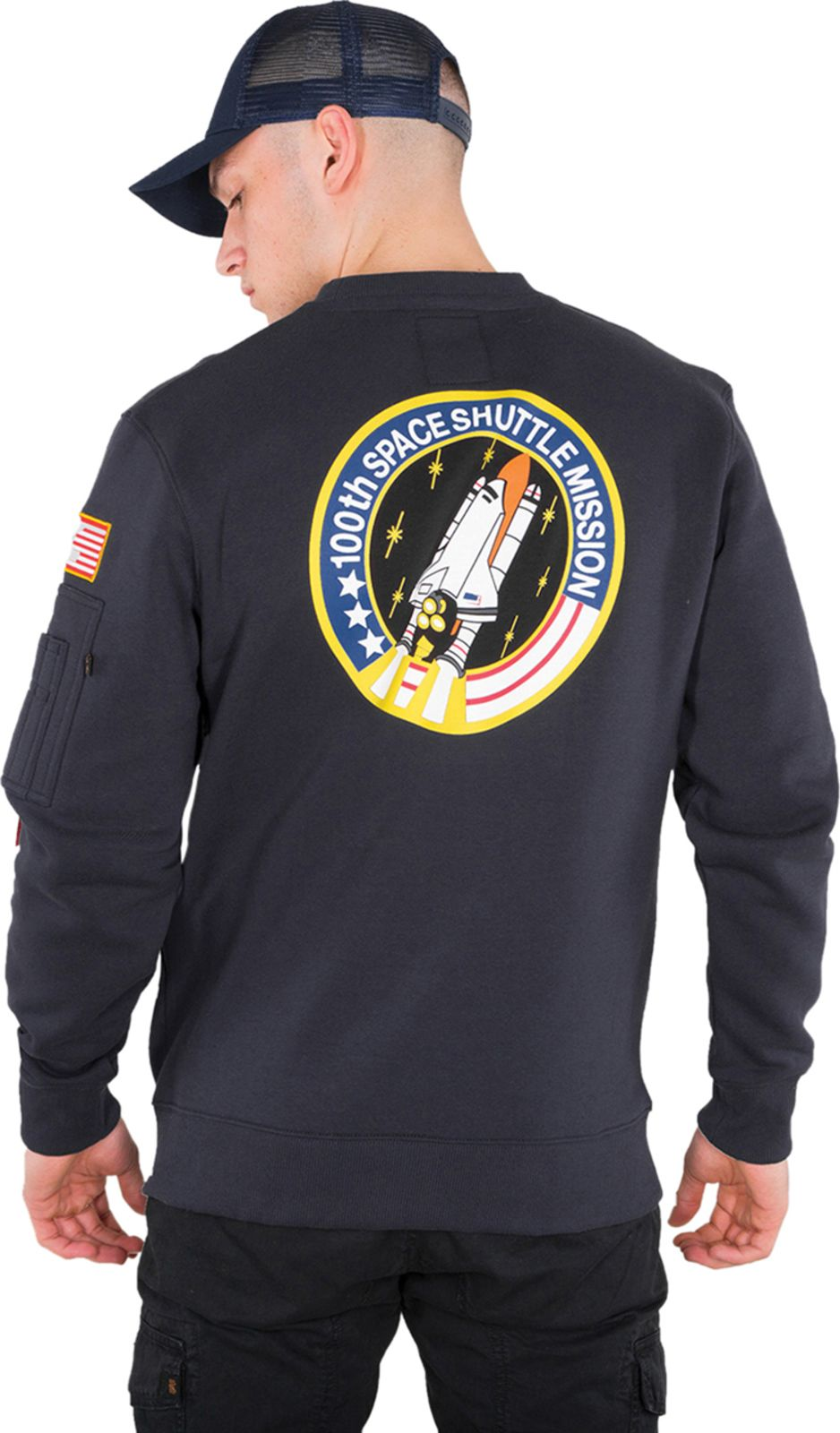 Alpha-Industries-Space-Shuttle-Sweatshirt-Blue
