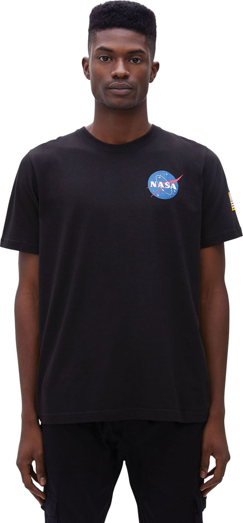 Alpha-Industries-Space-Shuttle-T-Shirt-Black