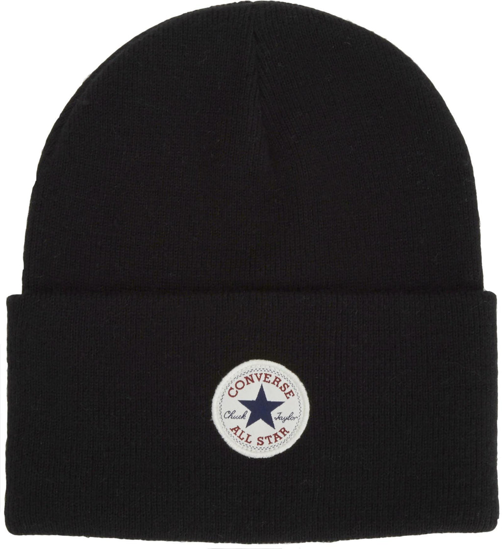 Converse All Star AW17 Knitted Beanie Hat Black