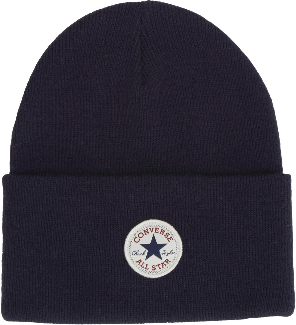 Converse All Star AW17 Knitted Beanie Hat Navy
