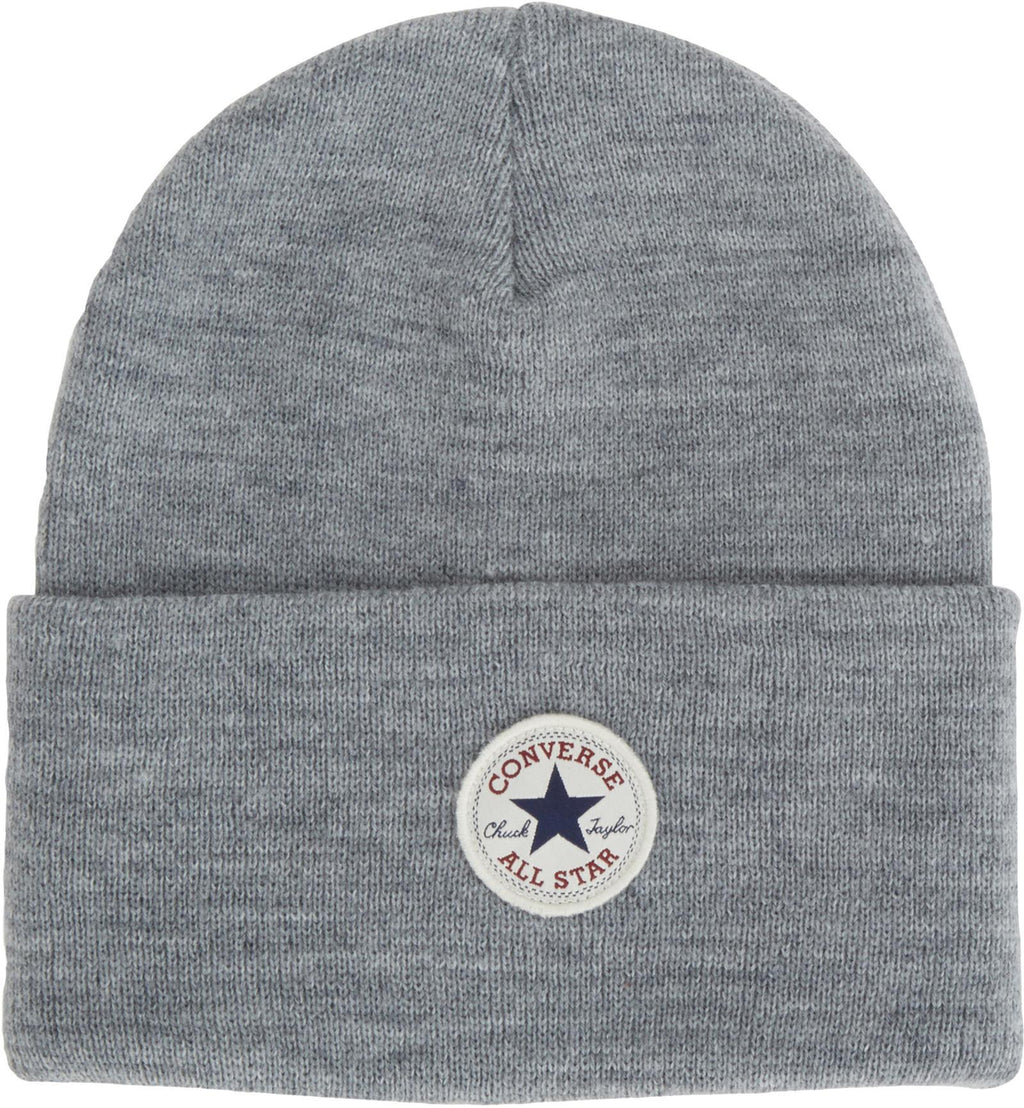 Converse All Star AW17 Knitted Beanie Hat Charcoal