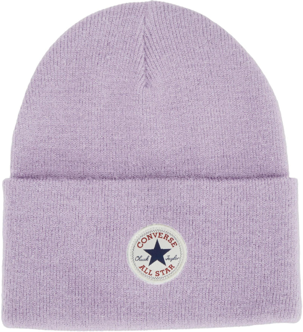 Converse All Star AW17 Knitted Beanie Hat Lilac