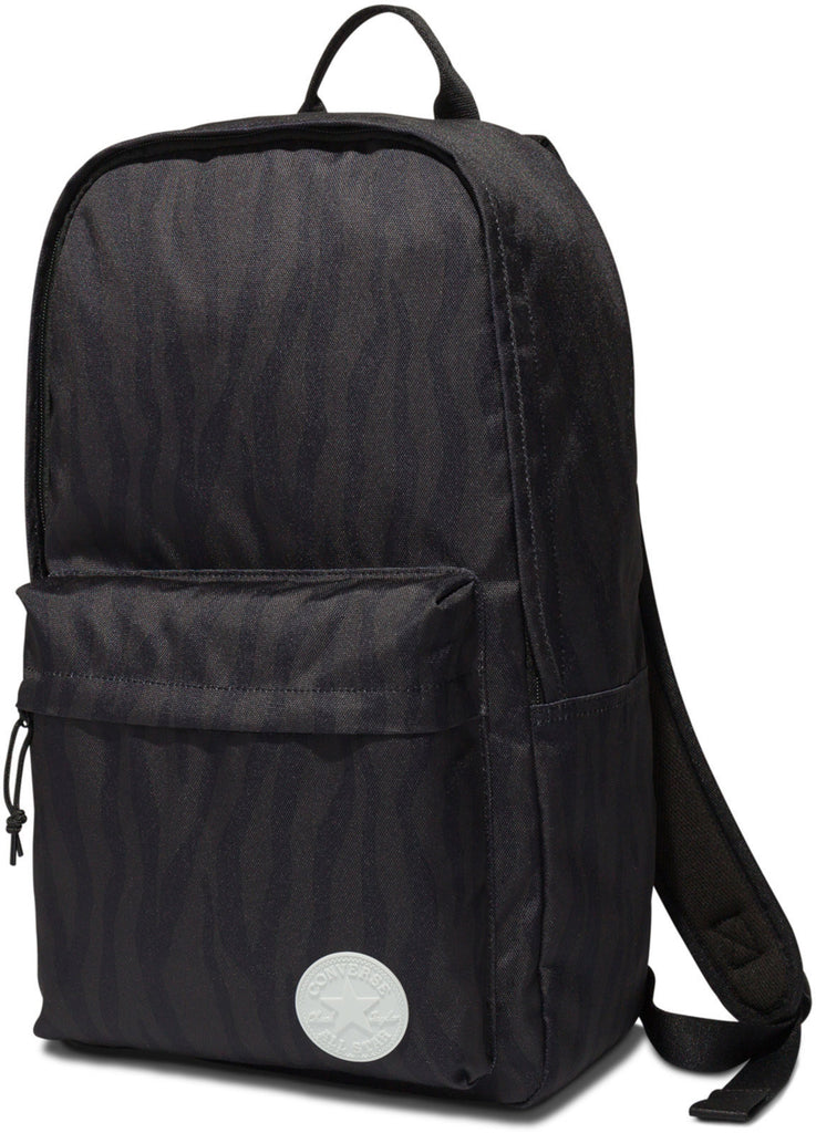 Converse All Star Core Backpack Bag Black/Grey Zebra