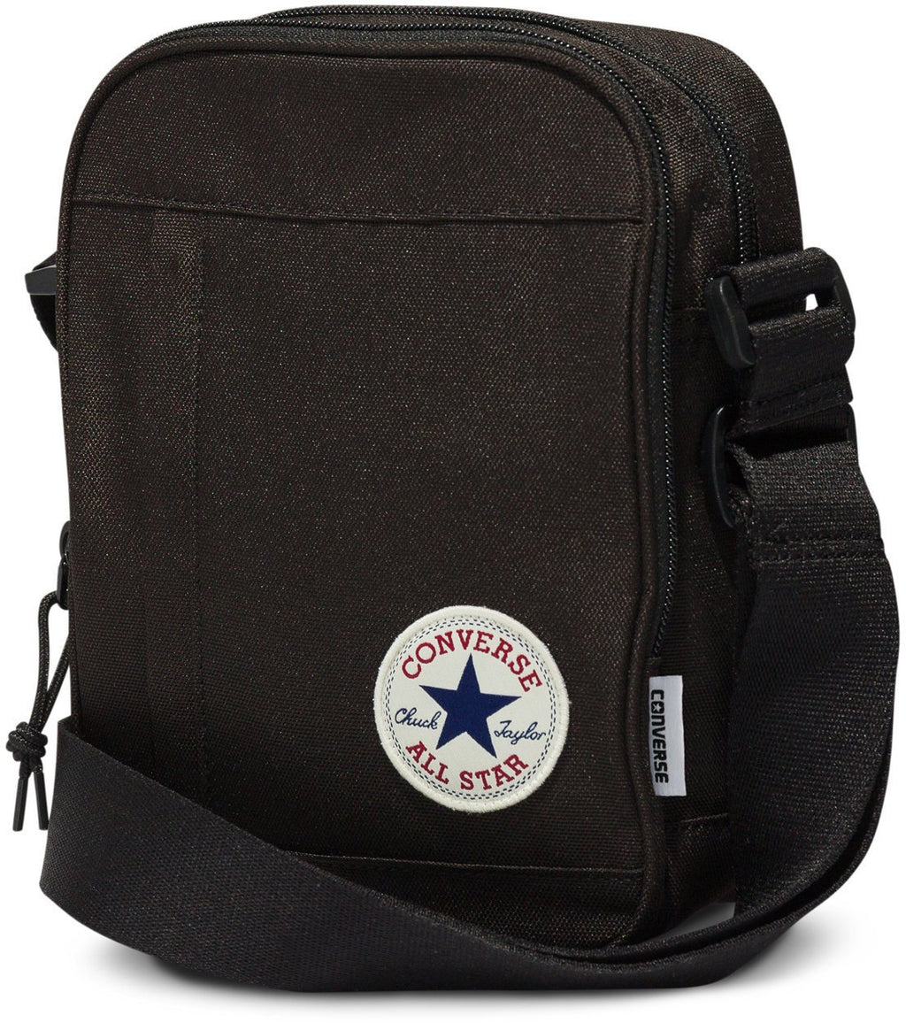 Converse All Star Cross Body Messenger Bag Black