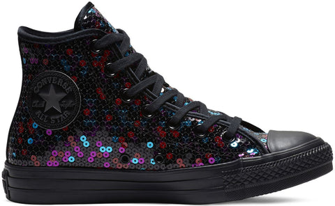 Converse Chuck Taylor All Star Holiday Scene Sequin Trainers