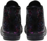 Converse Chuck Taylor All Star Holiday Scene Sequin Hi Trainers Black