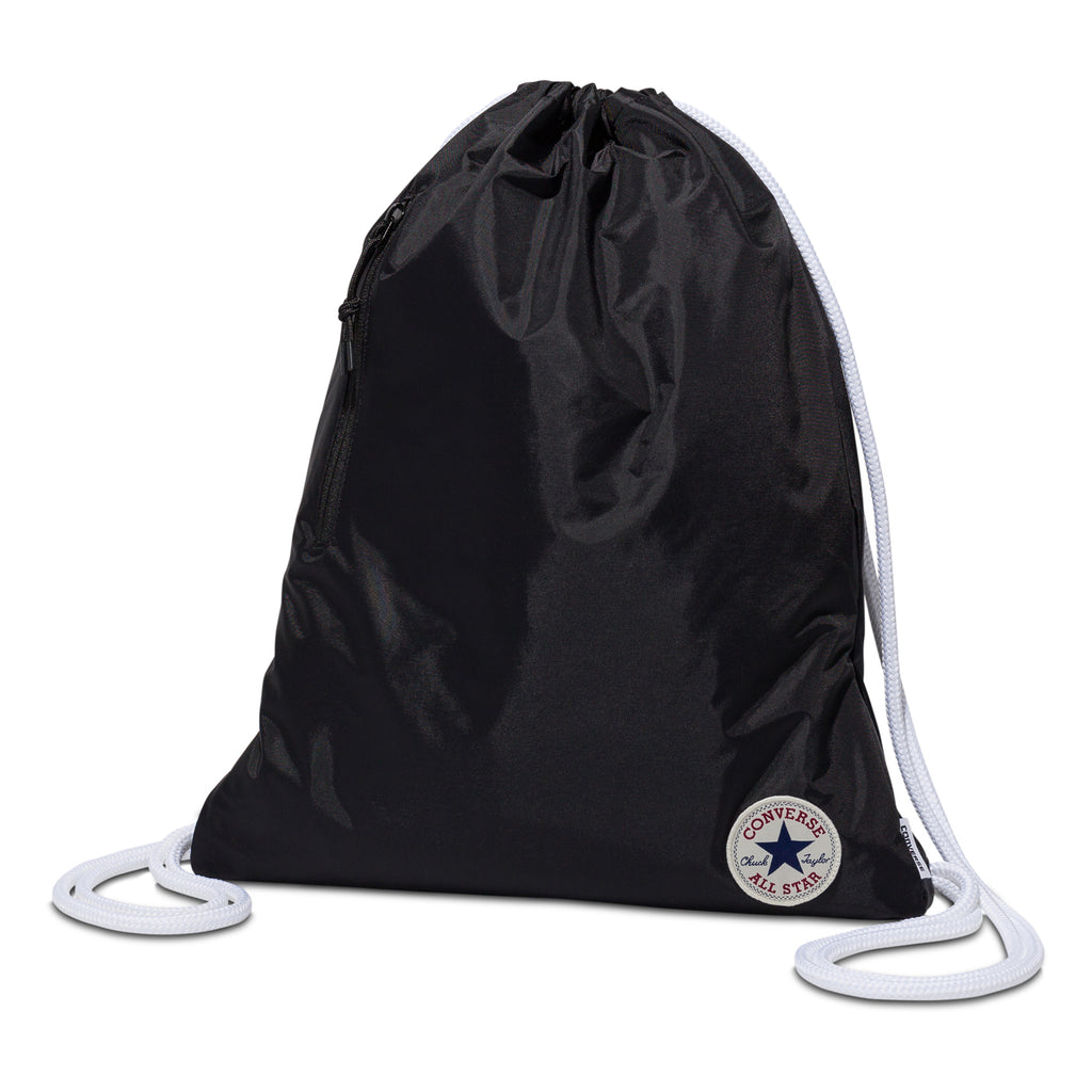 Converse Cinch Drawstring Gym Bag Black