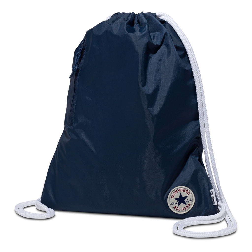 Converse Cinch Drawstring Gym Bag Navy