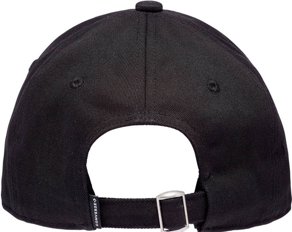 Converse Tip Off Chuck Patch Baseball Cap Black