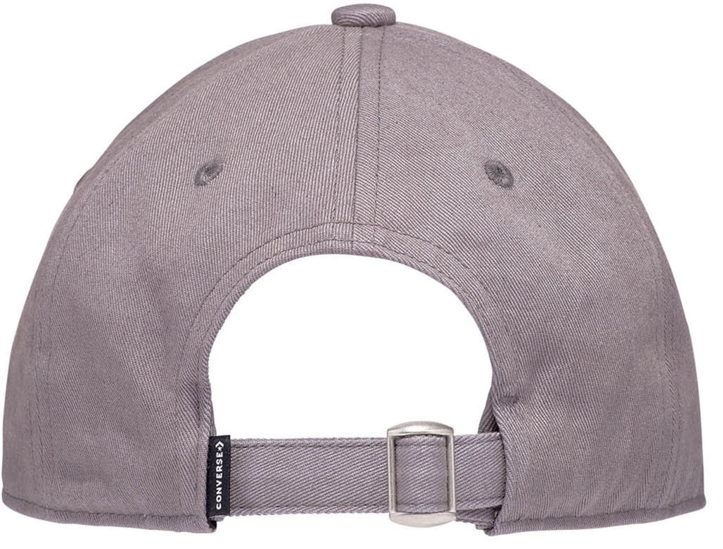 Converse Tip Off Chuck Patch Baseball Cap Mason Grey
